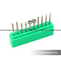 Dental Diamond Burs Set For Smoothing Coarse 10PCS FG1.6MM