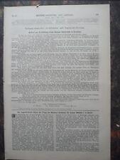 1890 Berlino monumento Imperatore Wilhelm Dresda chiamata semper monumento