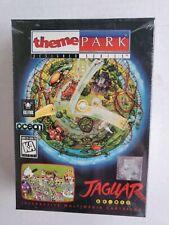 THEME PARK DESIGNER SERIES Atari Jaguar Cartridge NEW Factory Sealed