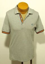 men's FRED PERRY polo shirt size MEDIUM - slim fit
