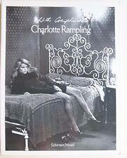 Charlotte Rampling, fotografie, Schirmer Mosel,