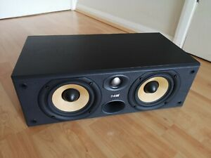 Bowers and Wilkins B&W Cc6 S2 centre speaker black