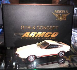 Armco Models56 1970 Holden GTR-X Concept a Torana XU-1 based White - 1:43 Scale