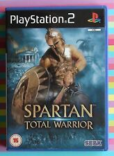SPARTAN TOTAL WARRIOR GAME FOR PLAYSTATION 2 (PS2) ~ 2005