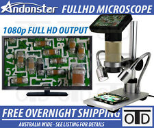HDMI digital inspection microscope PCB repair 10x-300x SMT SMD Camera Andonstar