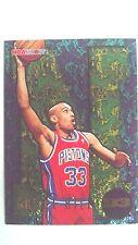 Grant Hill 1995-96 NBA Hoops Dunk! #D3 Detroit Pistons Basketball Card NICE!