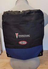 Pontiac Motorsports NHRA Drawstring Shoulder Backpack