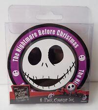 Disney- Nightmare Before Christmas - Jack Skellington 4 Pack Coaster Set 22627