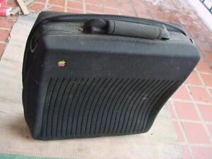 Vintage Apple Macintosh Portable Computer Case Bag As Is POOR ROUGH condition