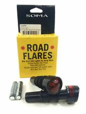 Aluma-Lites Safety Lights Braze-ons Allen Bolt fit Surly Soma etc USB F//R Pairs