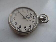 VINTAGE Dennison metallo cronometro NO RISERVA
