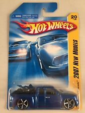 Hot Wheels 2007 New Models Chevy Silverado Blue