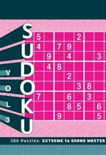 Sudoku 3: Extreme to Grand Master by Zachary Pitkow | Paperback Book | 978145210