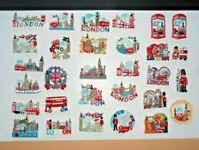 More details for i love london england uk fridge magnet souvenir ceramic mix design multi design