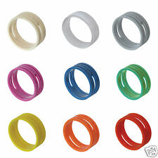 5x Neutrik Coloured XLR Rings. XX Series XXR Marking. Colour Coded Bushing