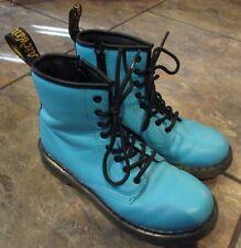 Dr Martens Tifffany Blue Delaney Boots Size 4 Men 5 Women