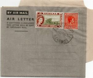 BAHAMAS: Air Letter 1963.