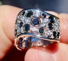 14K W/ GOLD 1.15cts BLACK & VANILLA DIAMOND LeVian Le Vian Red Carpet® RING BAND