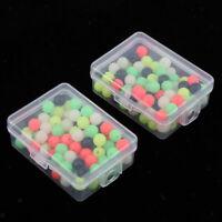 200 Stück Perlen Kunststoff rund Angeln Schwimmende Perlen Angeln Zubehör