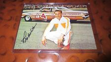 Rex White driver signed autographed photo  NASCAR 1960 Champ Original Ford team