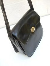 Classic Gucci Black Leather Handbag