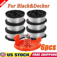 6Pack 30ft For Black & Decker Weed Eater Line String Trimmer Spool Replacement