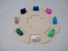8 MEXICAN TRAIN ENGINE DOMINO-TICKET TO RIDE GAME MARKERS w/ROUND HUB