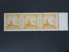 Sikkim - srtip of 3 of unlisted stamp - mint never hinged -229