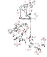 Audi Q7 4L Anteriore Sinistro Mozzo Ruota Mandrino 7L8407257C Nuovo Originale