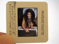 Original Press Promo Slide Negative - Gloria Estefan - 1991 - A