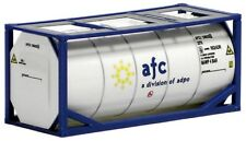 HO Scale Shipping container- 491047- 20ft Tank Container - AFC