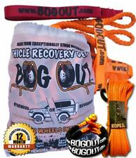 BOG OUT Single Pro Pack Rope Recovery ~ 'Turn Most Vehicles Wheels into a Winch'