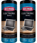 Weiman Electronic Wipes - Non Toxic Safely Clean Your Laptop, Computer, Tv, Phon photo