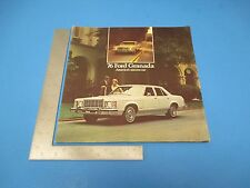 1976 Ford Granado America's Success Car Options & Features Pamphlet L214