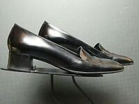 Women's Via Spiga Italy Classic Black Leather Pumps Sz/ 8M MINT!