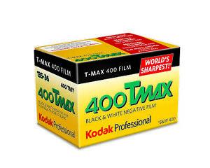 10 x Kodak Professional Tmax 400 B&W Camera Film (35mm Roll Film, 36 Exp.)