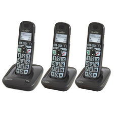Clarity D703 and (2) D703HS Moderate Hearing Loss Cordless Phone