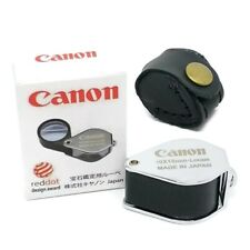 Canon full hd loupe 10X 18mm magnifying glass japan jewelry gem with box