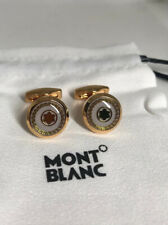 Cuff-links gold colour Montblanc Floating Star Emblem