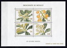 Monaco 1985 postfrisch MiNr. Block 29  Die vier Jahreszeiten