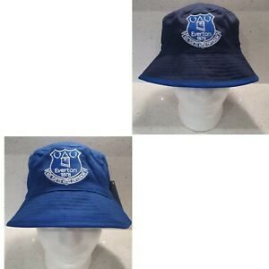Everton FC Official Reversible Sun/ Bucket Hat Royal/ Navy  - Junior