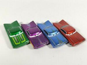 DISNEY PIXAR Cars Ramone 4 Set Ghostlight Green Purple Red Diecast Ghost Light