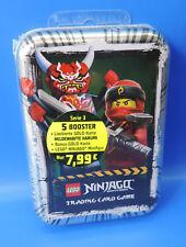 Blue Ocean Lego® Ninjago Serie 3  Tin Box Silber / Figur+Gold+Sammelkarten