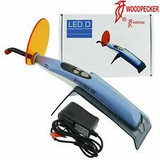 Woodpecker Dental Led D Curing Light Lamp Wireless Resin Cure 2300mwc Fda