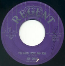 BOB OAKES & HIS SULTANS You Gotta Rock & Roll/Church Bells May Ring 1952 VG mp3