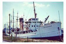 rp17895 - Ex Trawler - Glen Strathallan became Training Ship - photo 6x4
