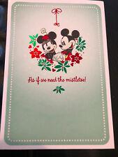 Hallmark Disney Mickey Mouse Christmas Card