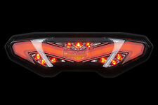 LED Integrated Blinker Taillight 2018 19 YAMAHA TRACER 900 GT SMOKE TURN SIGNAL