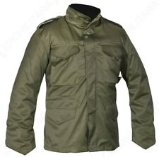 Olive Camouflage M65 Field Jacket - US Army Military Parka with Winter Liner
