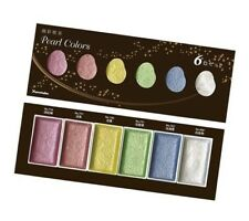 Kuretake Gansai Tambi Pearl Colors 6 Color Set Mc20pc/6v